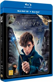fantastic beasts and where to find them / fantastiske skabninger og hvor de findes - 3D Blu-Ray