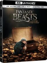 fantastic beasts and where to find them / fantastiske skabninger og hvor de findes - 4k Ultra HD Blu-Ray