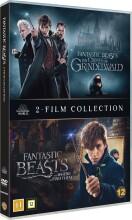 fantastiske skabninger 1-2 / fantastic beasts 1-2 - DVD