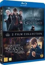 fantastiske skabninger 1-2 / fantastic beasts 1-2 - Blu-Ray
