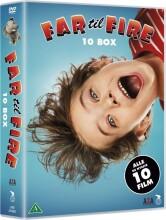 far til fire - 10 dvd boks - DVD