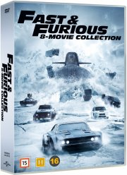 fast and furious 1-8  - DVD