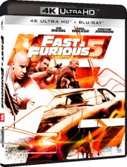 fast and furious 5 - 4k Ultra HD Blu-Ray