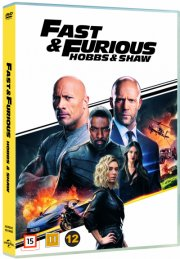 fast and furious - hobbs and shaw - DVD