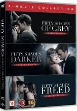 fifty shades trilogy box set - DVD