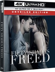 fifty shades 3 - freed / fri - steelbook - 4k Ultra HD Blu-Ray