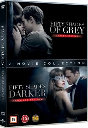 fifty shades of grey // fifty shades darker - DVD