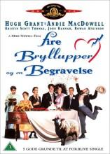fire bryllupper og en begravelse / four weddings and a funeral - DVD