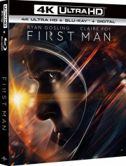first man - 4k Ultra HD Blu-Ray
