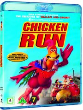 flugten fra hønsegården / chicken run - Blu-Ray