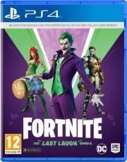 fortnite the last laugh - PS4