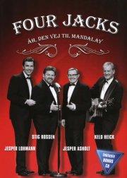 four jacks - åh den vej til mandalay (dvd + cd)  - DVD