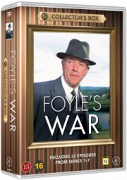 foyles war box set 1-7 - 22 episoder - DVD