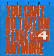 frank zappa - you can't do that on stage anymore vol.4 [original recording remastered] [dobbelt-cd] - cd