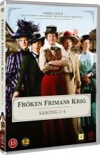 frøken frimans krig - sæson 1-4 - DVD