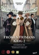 frøken frimans krig - sæson 2 - DVD