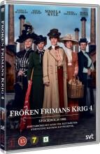 frøken frimans krig - sæson 4 - DVD