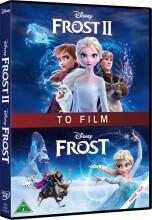 frost 1-2 / frozen 1-2 - disney - DVD