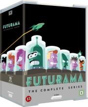 futurama: komplet sæson 1-8 - DVD