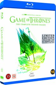 game of thrones - sæson 2 - hbo - robert ball limited edition - Blu-Ray