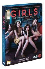 girls - sæson 1 - hbo - DVD