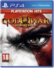 god of war iii - remastered - playstation hits - PS4