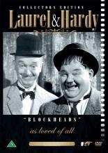 gøg og gokke - to fjolser / laurel and hardy - blockheads - DVD