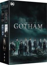 gotham - sæson 1-5 - den komplette serie - DVD