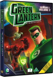 green lantern - sæson 1 - volume 2 - DVD
