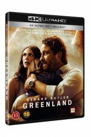 greenland - film 2020 - 4k Ultra HD Blu-Ray
