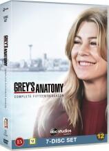 greys hvide verden - sæson 15 / grey's anatomy - season 15 - DVD