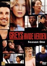 greys hvide verden - sæson 1 / grey's anatomy - season 1 - DVD