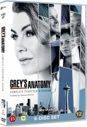 greys hvide verden - sæson 14 / grey's anatomy - season 14 - DVD