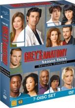 greys hvide verden - sæson 3 / grey's anatomy - season 3 - DVD