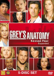 greys hvide verden - sæson 4 / grey's anatomy - season 4 - DVD
