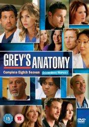 greys hvide verden - sæson 8 / grey's anatomy - season 8 - DVD