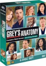 greys hvide verden - sæson 9 / grey's anatomy - season 9 - DVD
