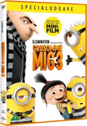 grusomme mig 3 / despicable me 3 - DVD