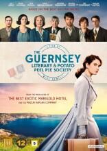 guernseys litterære kartoffeltærteklub / the guernsey literary and potato peel pie society - DVD