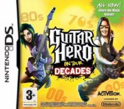 guitar hero on tour decades no grip - nintendo ds