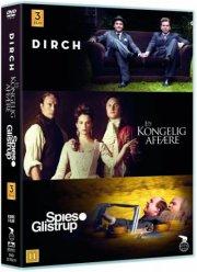 en kongelig affære // dirch // spies og glistrup - DVD