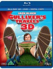 gullivers rejser  - 3D Blu-Ray+Dvd