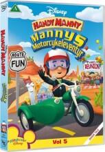 handy manny - mannys motorcykeleventyr - DVD