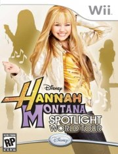 hannah montana: spotlight world tour - wii