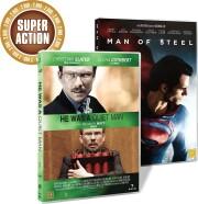 he was a quiet man // man of steel - DVD