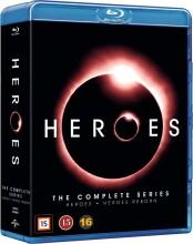 heroes - den komplette serie - sæson 1-4 + reborn - Blu-Ray