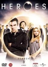 heroes - sæson 3 - DVD