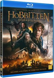 hobbitten 3 femhæreslaget / the hobbit 3 the battle of the five armies - Blu-Ray