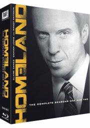 homeland - sæson 1+2 - Blu-Ray