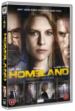 homeland - sæson 3 - DVD